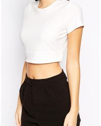 Love Natural Crop Top With Open Back