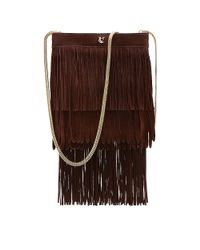 Vince Camuto | Brown Vc Signature Kilty - Layered Fringe Cross Body Bag | Lyst