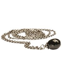 Trollbeads | Metallic Fantasy Black Onyx Pendant Necklace | Lyst