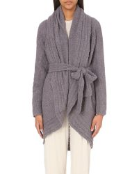 Skin | Black Open-front Alpaca-blend Cardigan - For Women | Lyst