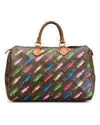 Louis Vuitton - Brown Mini Bullet 'speedy' Tote - Lyst
