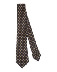 Kiton - Natural Tie for Men - Lyst