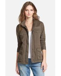 Hinge | Green Fatigue Canvas Jacket | Lyst