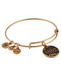 ALEX AND ANI | Metallic Like A Sister Charm Bangle | Lyst