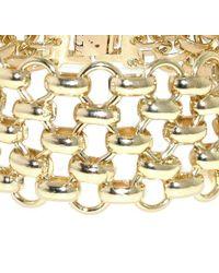 1928 - Metallic Mesh Link Bracelet - Lyst