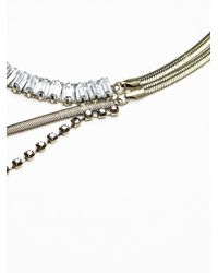 Free People | Metallic Northern Lights Ladder Necklace | Lyst