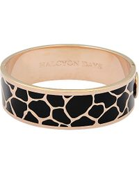 Halcyon Days | Metallic Giraffe Bangle | Lyst