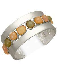T Tahari | Metallic Multicolor Cuff Bracelet | Lyst
