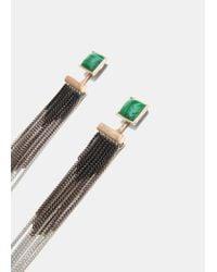Mango | Metallic Metal Pendant Earrings | Lyst
