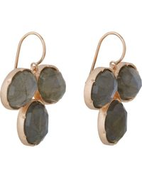 Irene Neuwirth - Gray Women's Gemstone Drop Earrings - Lyst