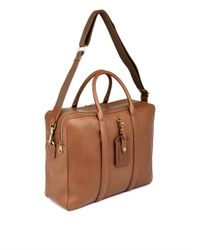 a87f85d28e9 Lyst - Mulberry Matthew 24 Hour Leather Weekend Bag in Brown for Men