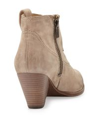 Frye | Natural Reina Ankle Boot Stone | Lyst