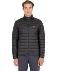 Patagonia Black Down Sweater Jacket for men