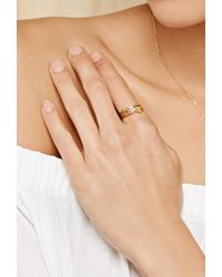 Forever 21 - Metallic Cool And Interesting L Initial Ring - Lyst