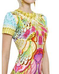 Manish Arora | Multicolor Printed Cotton Jersey Dress | Lyst