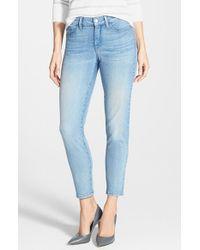 NYDJ Blue 'clarissa' Stretch Skinny Ankle Jeans