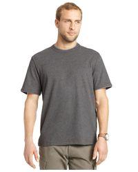 G.H. Bass & Co. | Blue Pieced Heathered T-shirt for Men | Lyst