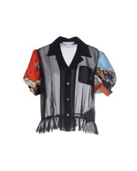 Comme des Garçons - Blue Shirt - Lyst