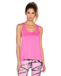 Nux Pink Exhale Tank In Pretty