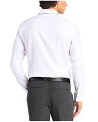 BOSS Green - White Regular-fit Casual Shirt: 'c-bal' With A Fine Texture for Men - Lyst