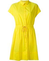 Vanessa Bruno Athé | Yellow Short Dress | Lyst