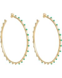 Aurelie Bidermann | Green Wapiti Hoops | Lyst