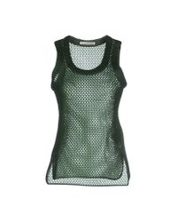 Acne - Green Top for Men - Lyst