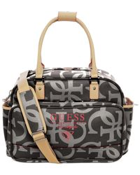 Guess | Black Thurston East West Tote | Lyst