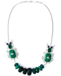 Vivienne Westwood - Metallic 'Salome' Necklace - Lyst