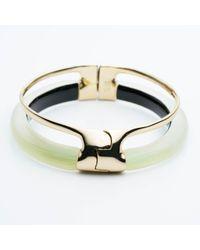 Alexis Bittar | Multicolor Double Band Liquid Hinge Bracelet | Lyst