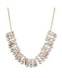 Alexis Bittar - Metallic Articulating Pearl Spear Bib Necklace You Might Also Like - Lyst