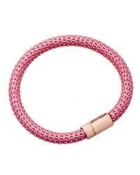 Carolina Bucci Pink Twister Bracelet