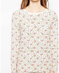 Cath Kidston - Multicolor Bramley Sprig Nightwear Top - Lyst