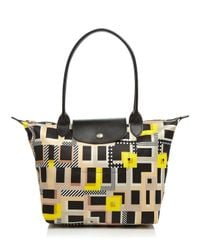 Longchamp Natural Le Pliage Artwalk Small Tote