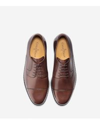 Cole Haan - Brown Cassady Cap Toe Oxford for Men - Lyst