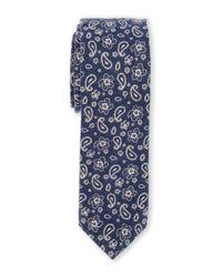 Original Penguin - Black Lily Pine Chambray Tie for Men - Lyst