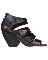 Corso Como | Black Carrington Wedge Sandals | Lyst