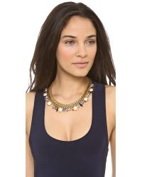 Lizzie Fortunato - Metallic Lost in Translation Necklace Gold Multi - Lyst