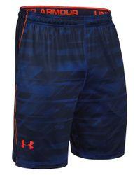 Under Armour Blue Raid Shorts for men