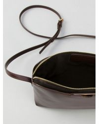 The Row Brown Multi Pouch Shoulder Bag
