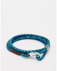 Paul Smith | Blue Wraparound Bracelet for Men | Lyst