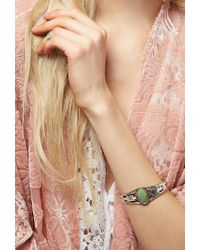 Forever 21 - Green Peyote Bird Turquoise Cuff - Lyst