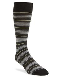 Hook + Albert | Green Stripe Socks for Men | Lyst