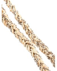Carolina Bucci - Metallic Gold and Silk Braided Lucky Bracelet - Lyst