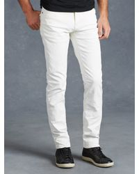 John Varvatos | White Bowery Jean for Men | Lyst