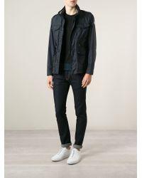 Moncler - Blue 'Triomphe' Jacket for Men - Lyst