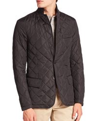 Polo Ralph Lauren | Black Quilted Sportcoat for Men | Lyst