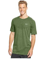 Nike | Green Dri-fit Crew-neck Performance T-shirt for Men | Lyst
