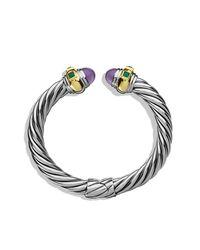 David Yurman | Metallic Renaissance Bracelet With Gold, 8.5mm | Lyst