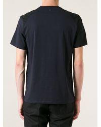 Neil Barrett - Black Geometric Pattern Tshirt for Men - Lyst